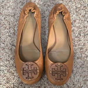 Used Tory Burch Miller flats
